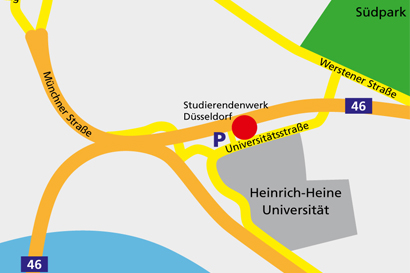 anfahrt studierendenwerk dsseldorf pdf - Uni Dsseldorf Bewerbung